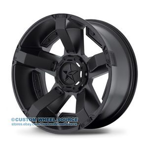 "20"" XD Series Rockstar 2 Black Rims w/ Federal 35X12.50R20 Off Road Wheels Tires       http://www.wheelhero.com"