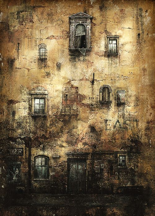 meestarman:    llbwwb:    lifecolor:    sawaru:    Old wall      no words needed.      (via junhajime)