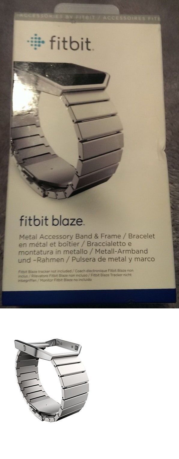 Fit Tech Parts and Accessories 179799: *Brand New* Genuine Fitbit Blaze Metal Accessory Band And Frame - Retail Box -> BUY IT NOW ONLY: $54.95 on eBay!