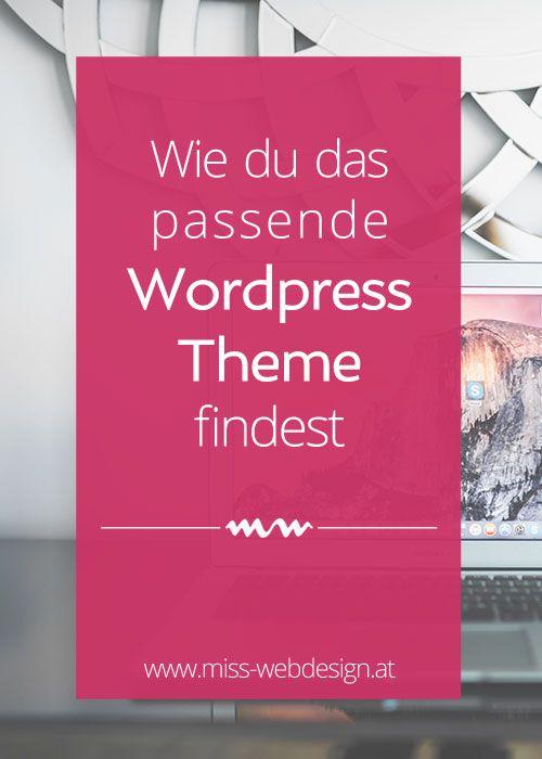 Wie du das passenden Wordpress Theme findest