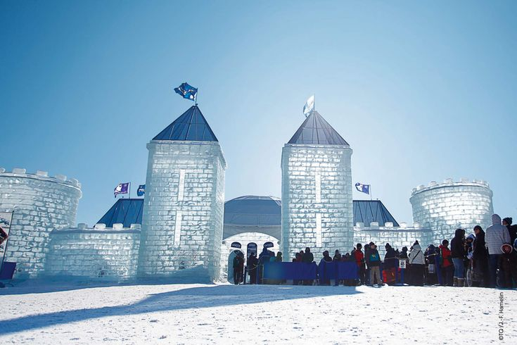 Quebec City Winter Carnival - Ice Palace sculpture#Tremblant