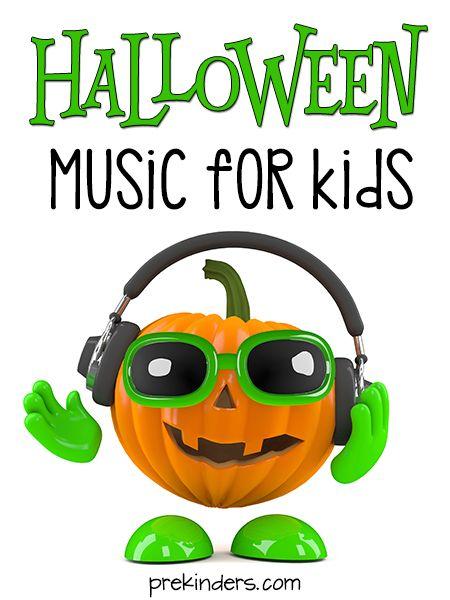 Halloween music & movement videos kids will love!