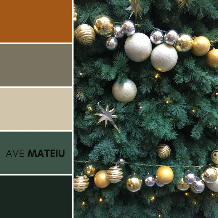 Christmas Decorations Color Palette 363 Christmas color