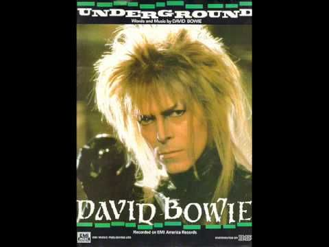 David Bowie~Underground: Daddy, Daddy get me out of here, where nothing ever hurts again.
