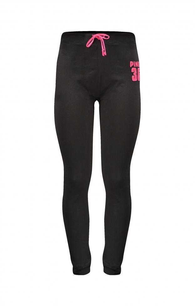 Γυναικείο παντελόνι φόρμας στενό | Φόρμες - Sport & Αθλητικά - Μαύρο