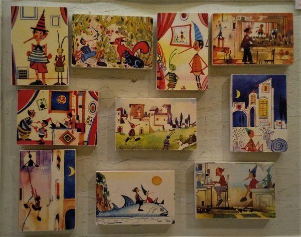 Magneti Pinocchio - magneti di Massimo Pantani, Pantani Arte San Gimignano (Siena)