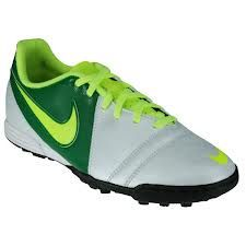 Nike verde amarillo