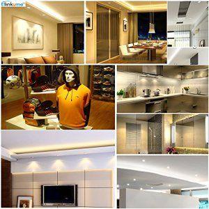 Elinkume Spot Encastrable LED Fixation GU10 Ampoule LED/Ampoule Halogène Aluminium Encastrable de Plafond AC95-240V avec GU10 Douille