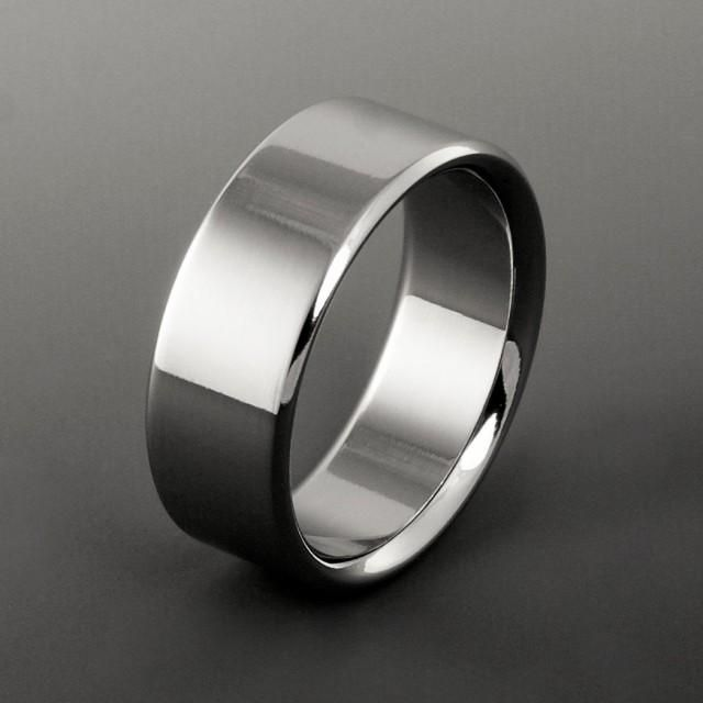 Titanium Wedding Ring Band Mens Womens