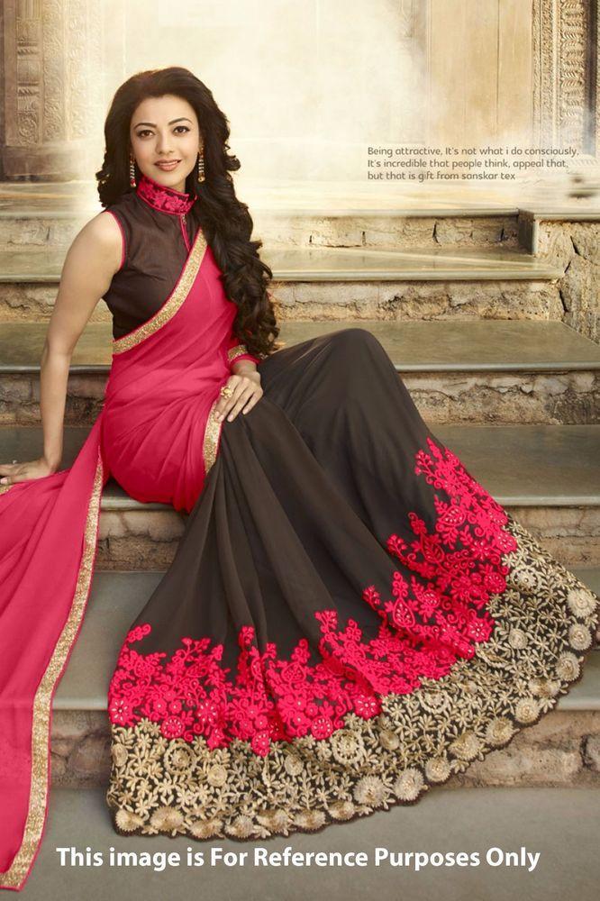 Indian Traditional Party Wear Bollywood Sari Bridal Wedding Pakistani Saree 96 #SUNRISEINTERNATIONAL #SARI
