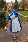 "2012 halloween costume, ""Alice in wounderland"""