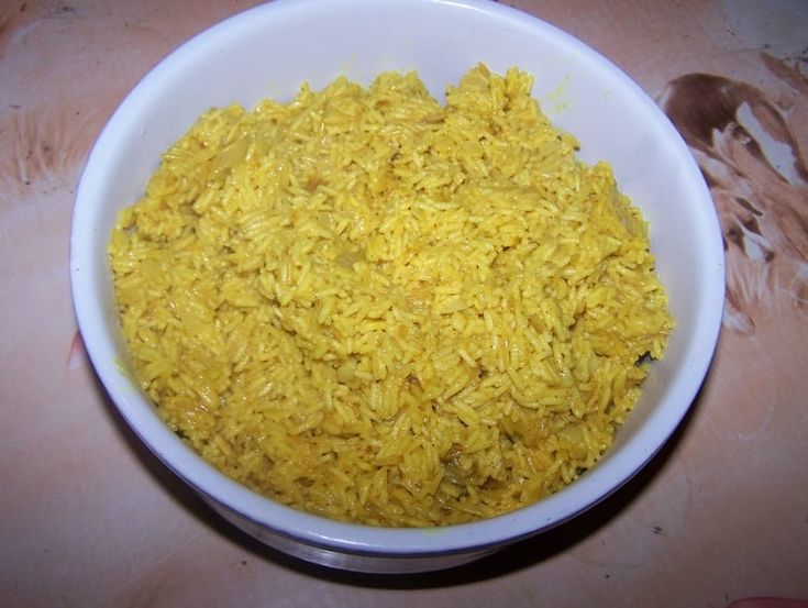 Riz basmati au curry