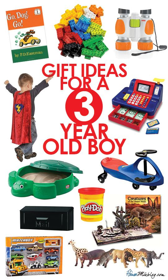 Gift Ideas For 3 Year Old Boys