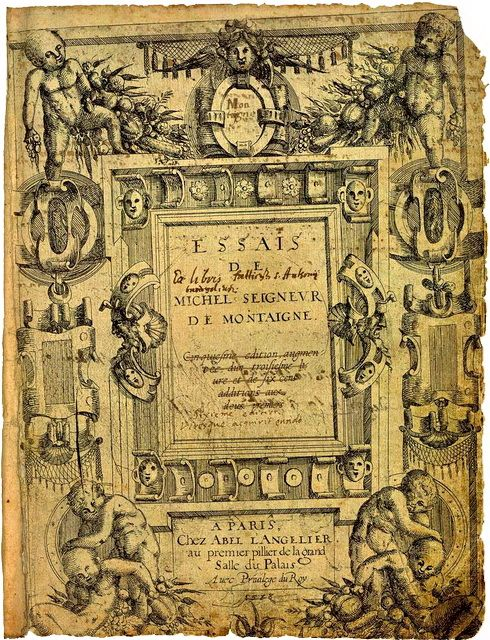 essays by michel de montaigne sparknotes