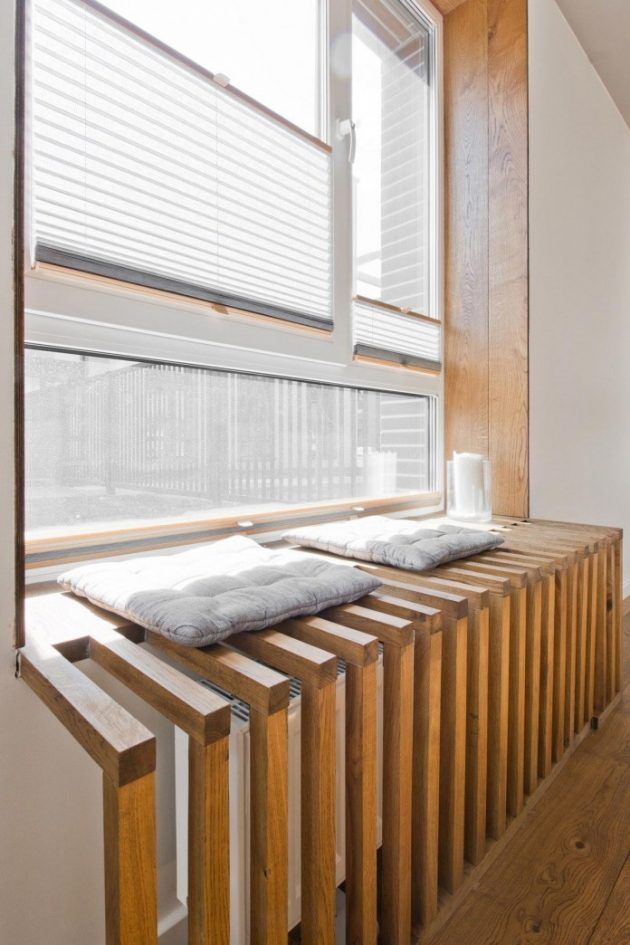 Modernes skandinavisches Loft-Interieur von InArch in Vilnius, Litauen
