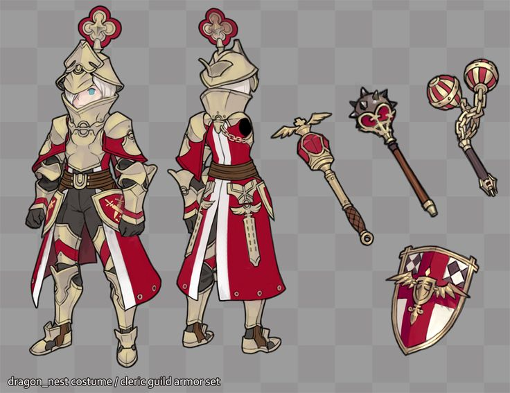 N/A (dragon nest guild knights set)