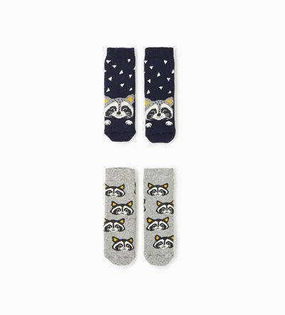 Pack Socken mit Waschbären-Alles anzeigen-ACCESSOIRES-BABY JUNGEN | 3 Monate bis 4 Jahre-KINDER | ZARA Deutschland