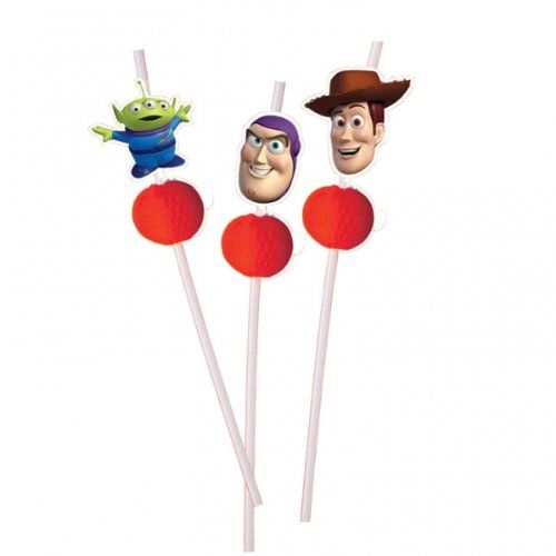 6 Toy Story 3 Drinking Straws @ niftywarehouse.com #NiftyWarehouse #Geek #Gifts #Collectibles #Entertainment #Merch
