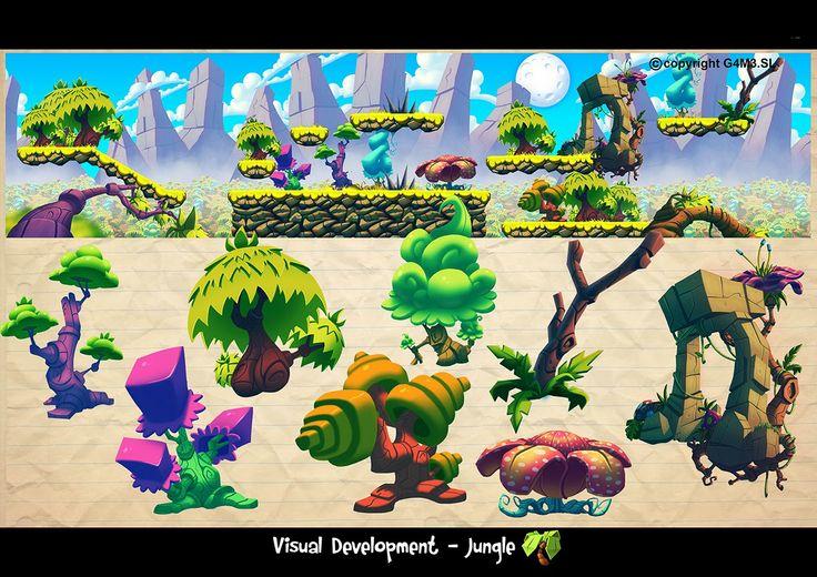 Javier Burgos Artblog!: Game Environments