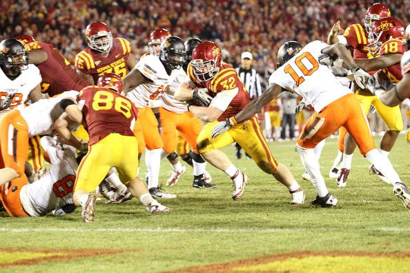 NCAA Football Betting: Free Picks, TV Schedule, Vegas Odds, Oklahoma State Cowboys vs. Iowa State Cyclones, Nov 14th 2015