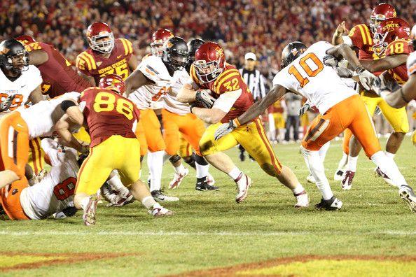 NCAA Football Betting: Free Picks, TV Schedule, Vegas Odds, Oklahoma State Cowboys vs. Iowa State Cyclones, Nov 14th 2015
