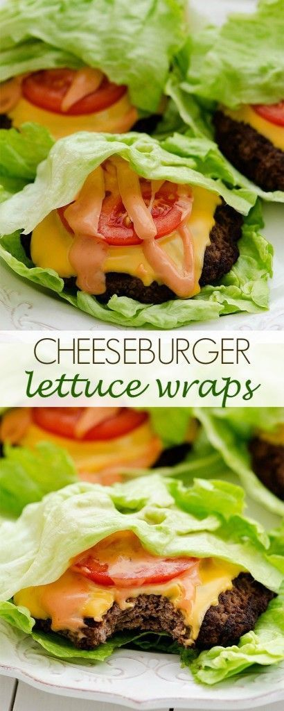 Want a tasty cheeseburger with a little less guilt? Drop the bun and wrap it in lettuce for a fresh new taste.