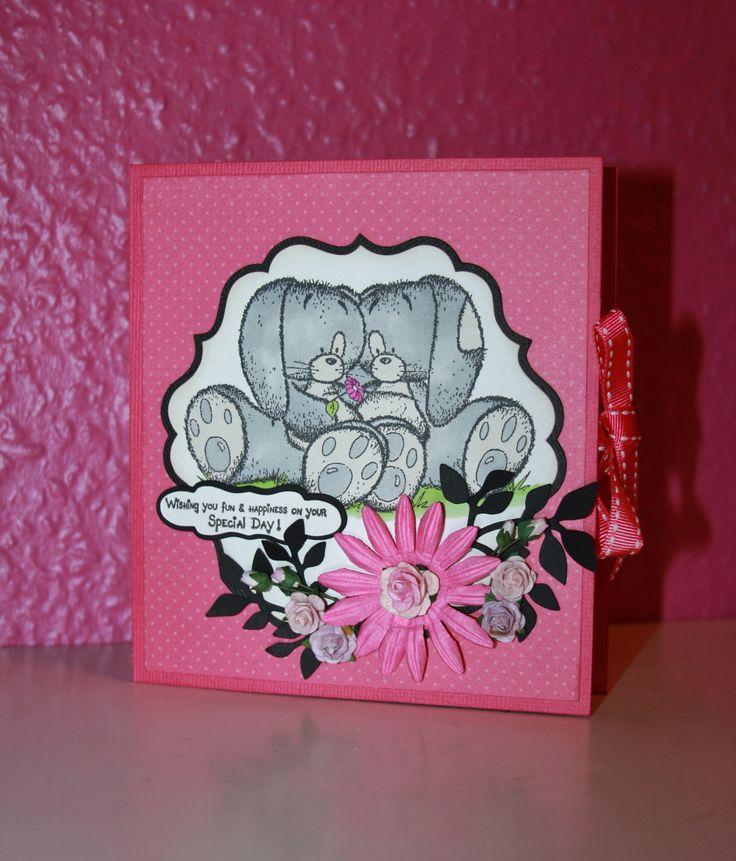 """Forsiden af te lys kortet.. Skære filen er designet af Lissy og ligger i facebook gruppen """"I love silhouette- for os i skandinavien"""""""
