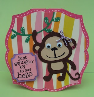 Crafted With Love By Karen: Just Swingin' By To Say Hello!
