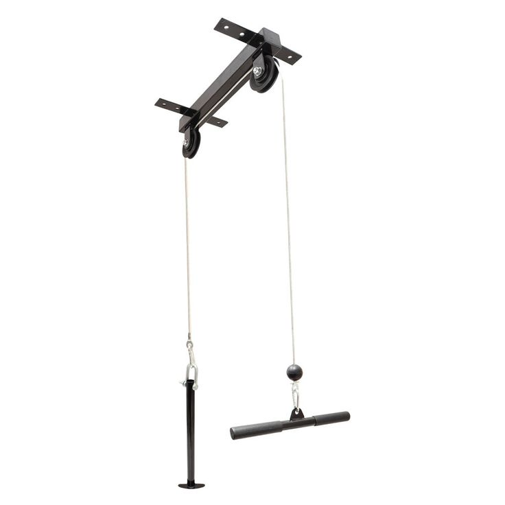 CEILING MOUNTED LAT PULL DOWN CABLE PULLEY MACHINE HOME MULTI GYM/WORKSTATION in Sporting Goods, Fitness, Running & Yoga, Strength Training & Weights | eBay!