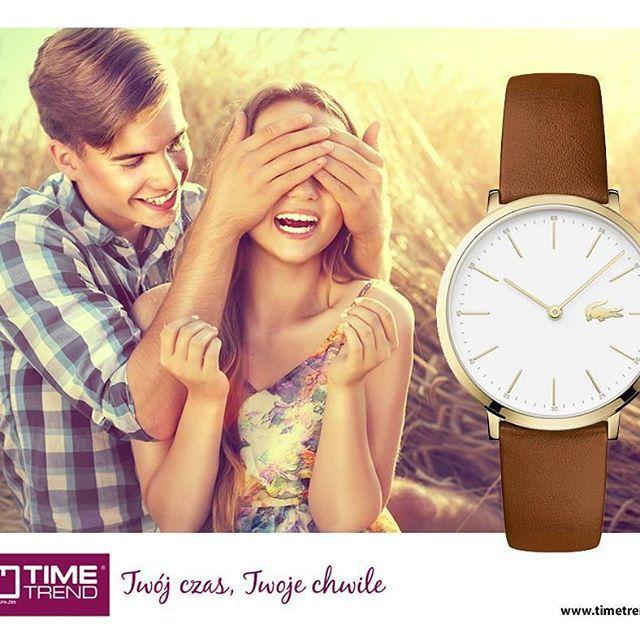 Celebruj każdą radosną chwilę!  #timetrend #radosc #radość #razem #lacoste #zegarek #zegarki #moda #fashion #love #miłość #milosc