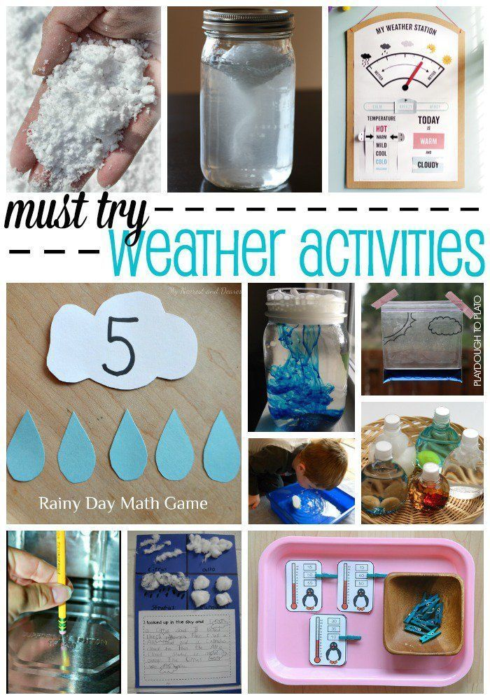 Must Try Weather Activities For Kids