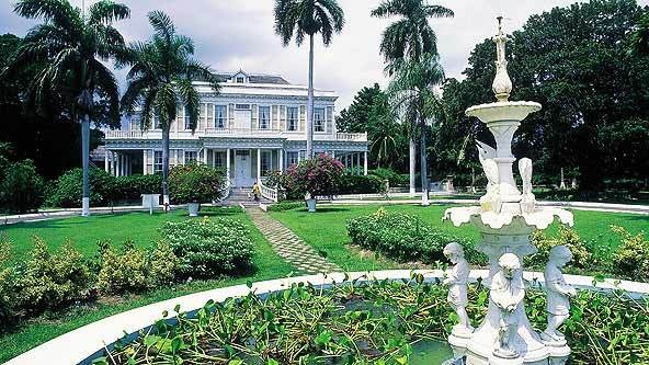Devon House, Kingston, Jamaica....they sell the best ice cream! i can taste it right now