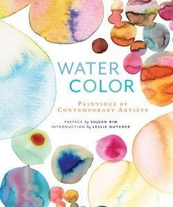 My work is on the cover and inside this Chronicle book featuring watercolor artists. Out April.