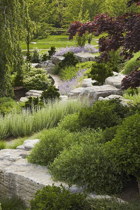 69 best Slopes and Hillsides images on Pinterest Hillside garden