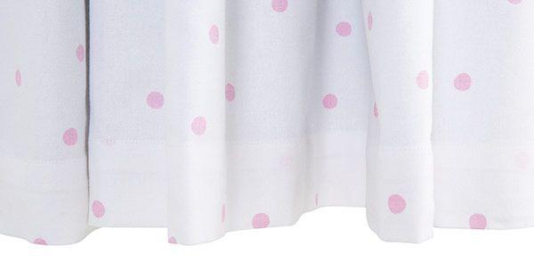 Pink Spot Lace Blackout Curtains