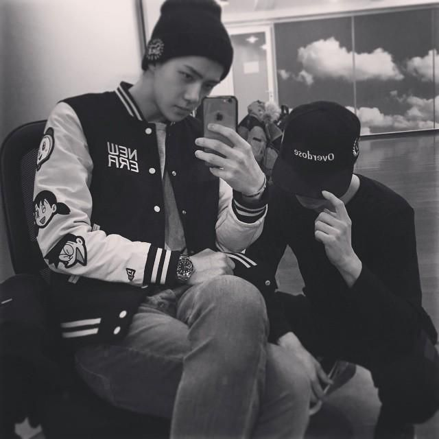 [UPDATE] 150215 Sehun's Instagram :  도라에몽#NEWERA --------------- http://instagram.com/p/zHJTuFrkJs/