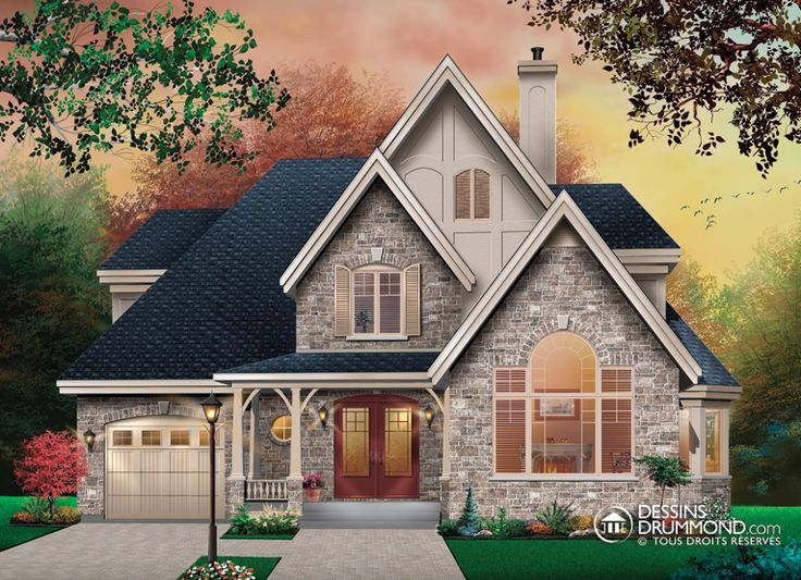 house_plan_maison_etage_2_stories_W3828