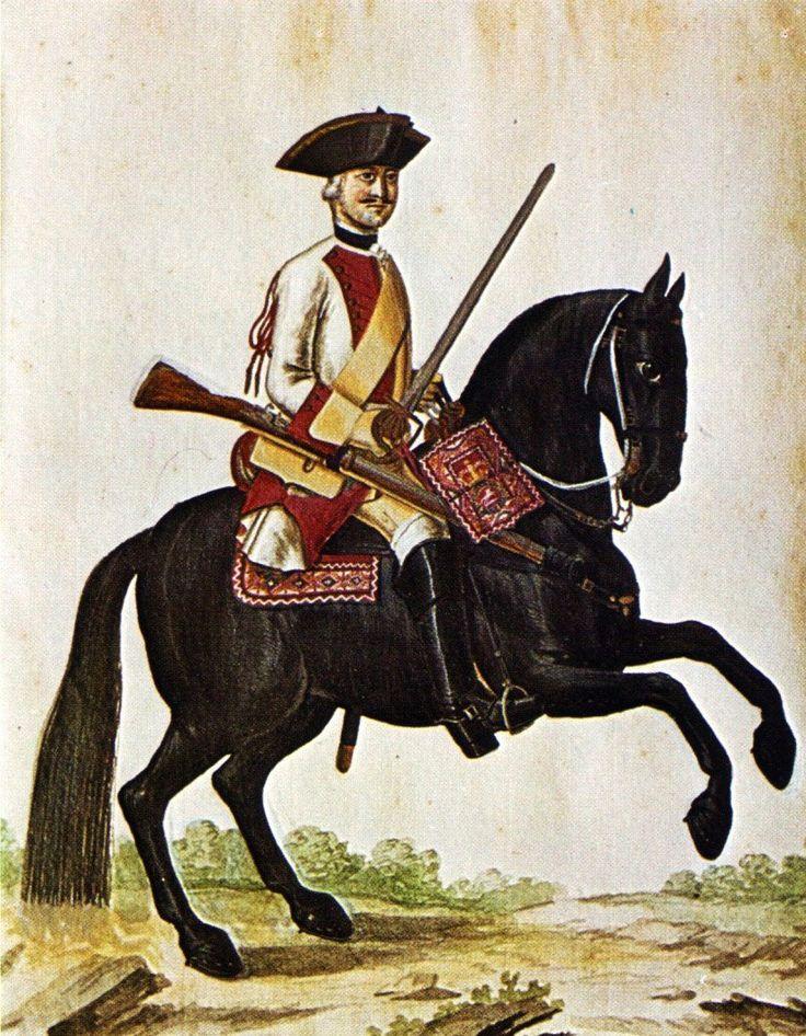Hanover in the Seven Years War Dragoon Regiment von Bock by Karsten