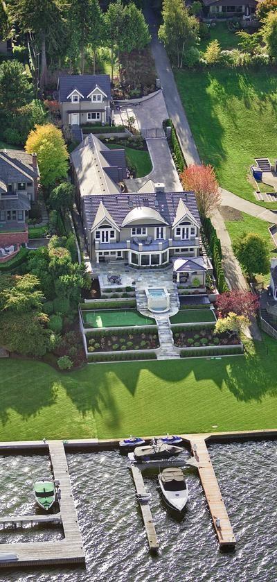 Miss Millionairess's Lakehouse