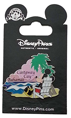Disney Pin - Mickey at Castaway Cay @ niftywarehouse.com #NiftyWarehouse #Disney #DisneyMovies #Animated #Film #DisneyFilms #DisneyCartoons #Kids #Cartoons