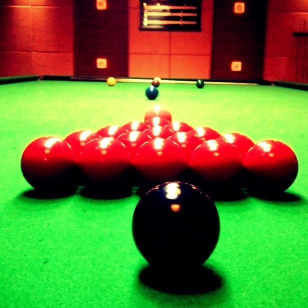 Snooker - great game.