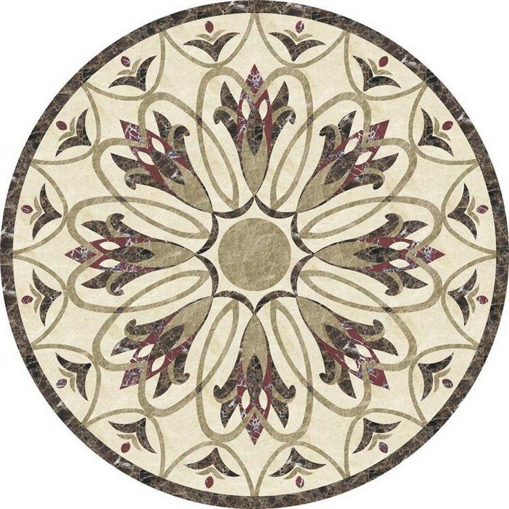 Emperador Dark Marble Floor Medallions 48 : Best images about details of victorian homes on