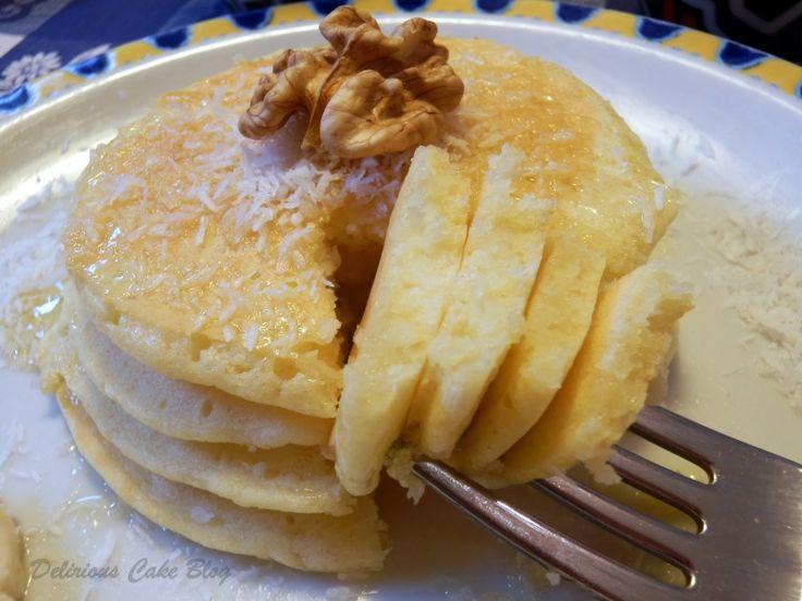 Pancakes al Cocco con Banana