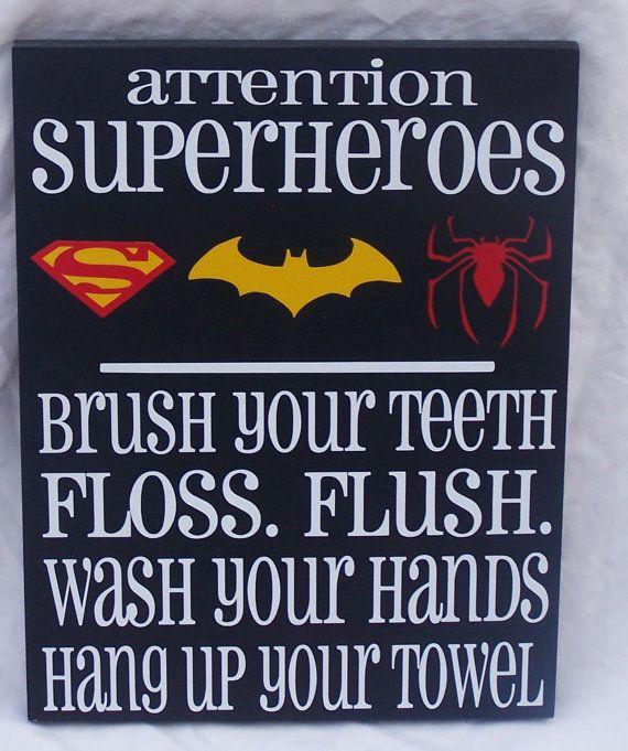 Batman Bathroom Sign: Best 25+ Superhero Bathroom Ideas On Pinterest