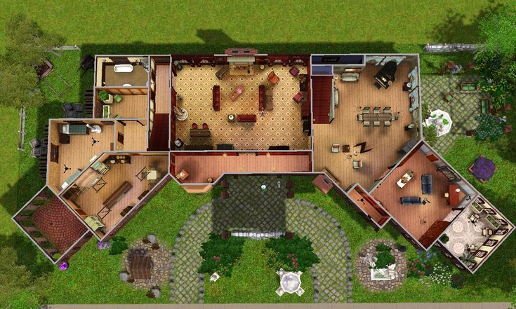 Salvatore House Plan Mod The Sims Glenridge Hall The