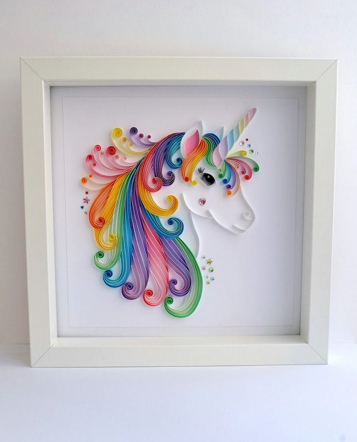 It's Hard To Believe This Gorgeous Unicorn Is Made From Paper