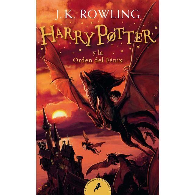 Harry Potter Y La Orden Del Fénix Harry Potter 5 Bolsillo Tapa Blanda Cubiertas De Libros De Harry Potter Libros De Harry Potter La Orden Del Fenix