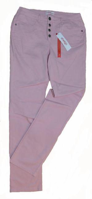 Stretch-Hose in Chinoform von Sheego Größe 24 (48 Kurzgröße) in rose  | eBay