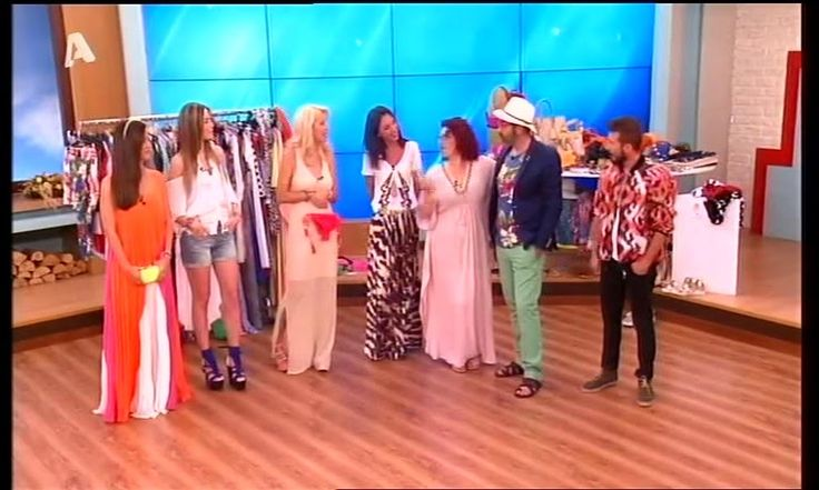 "DFine Styling team at ""Eleni"" show, Alpha Tv. http://www.alphatv.gr/shows/entertainment/eleni/webtv/kalokairines-emfaniseis-gia-oles-tis-peristaseis"
