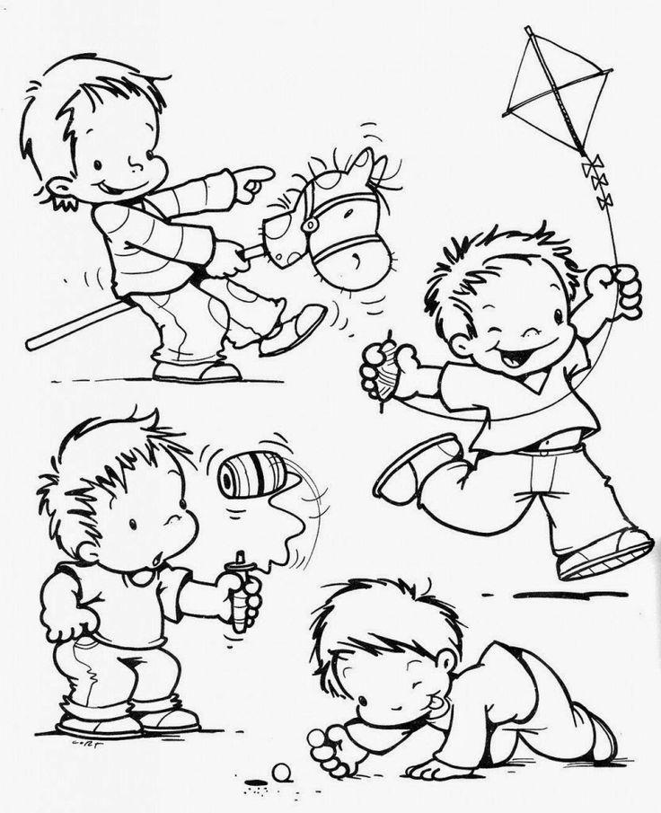 Atividades Infantis: Desenhos para Colorir e Imprimir - Dia das Crianças…